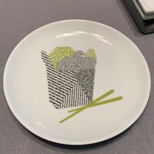 CB2 Take Out Box Appetizer Plates